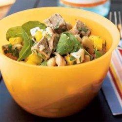 Roast Lamb and White Bean Salad recipe