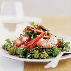 Shrimp Salad with Lemon-Herb Vinaigrette recipe
