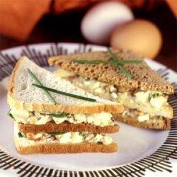 Egg Salad Club Sandwiches recipe