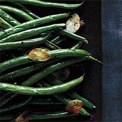 Garlic Haricots Verts recipe