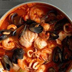 Cioppino (San Francisco style fish stew) recipe