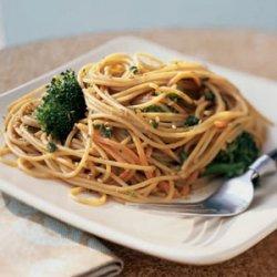 Sesame Noodles with Broccoli recipe
