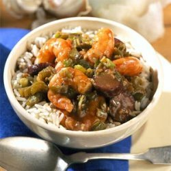 Shrimp and Sausage Gumbo recipe