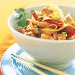 Peanut Noodles with Chicken recipe