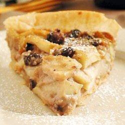 Apple and Walnut Cream Tart recipe