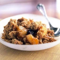 Pear, Apple, and Cherry Crumble recipe