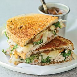 Toasted Turkey, Brie, and Apple Sandwiches recipe