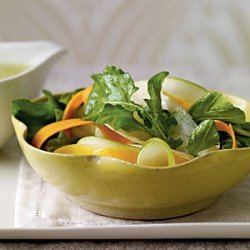 Shaved Fall Vegetable Salad with Cider Vinaigrette recipe