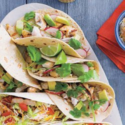 Grilled Tilapia Soft Tacos recipe