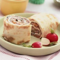 Smoked Salmon and Cream Cheese Roll-ups recipe
