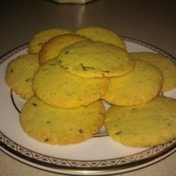 Rosemary Polenta Cookies recipe