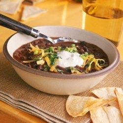 Instant Black Bean Soup recipe