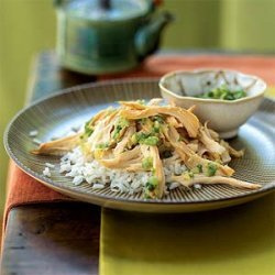 Chicken with Ginger and Green Onion Salt Dip recipe