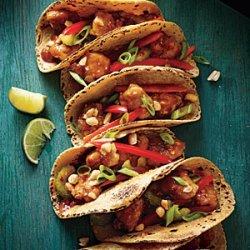 Kung Pao Chicken Tacos recipe
