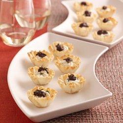 Goat Cheese-and-Olive Mini Tarts recipe