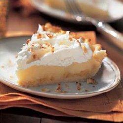 Coconut Cream Pie with Pineapple recipe
