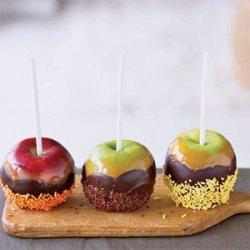 Chocolate Caramel Apples with Sprinkles recipe
