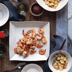 Salt and Pepper Shrimp with Thai Fried Rice recipe