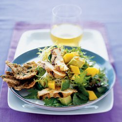 Grilled Chicken Salad With Avocado and Mango recipe
