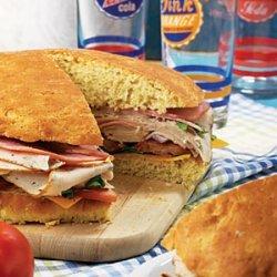 Giant Stuffed Sandwich recipe