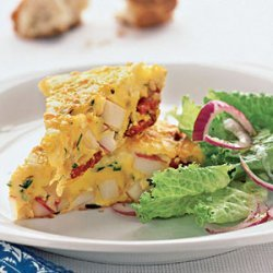 Spanish Omelet with Potatoes and Chorizo recipe