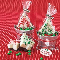 Peppermint Bark Trees recipe