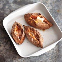 Baked Sweet Potatoes recipe