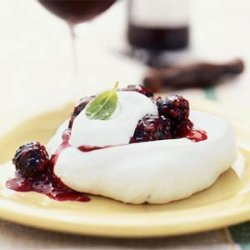 Blackberry Meringues recipe