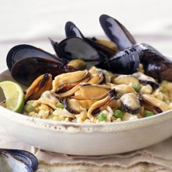 Curried Mussel Pilaf recipe