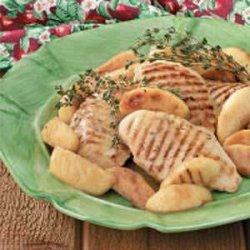 Apple Thyme Chicken recipe