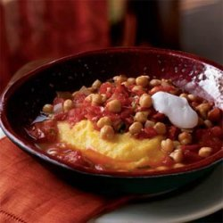 Chickpea Stew Scented with Lemon and Cumin recipe