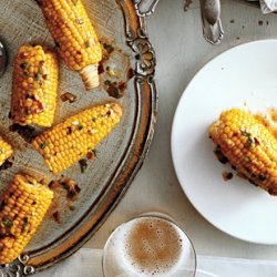 Corn on the Cob with Chipotle-Scallion Butter recipe