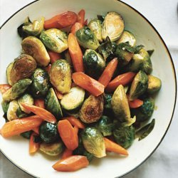 Carrots and Brussels Sprouts recipe