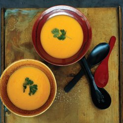 Pumpkin, Corn, and Lemongrass Soup recipe