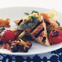Wheat-Berry Salad with Grilled Tofu recipe