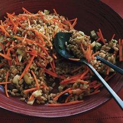 Farro with Fennel and Carrots recipe