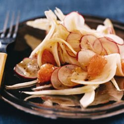 Shaved Fennel, Radish, and Grapefruit Salad recipe