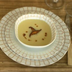 Celery-Root Bisque with Shiitakes recipe