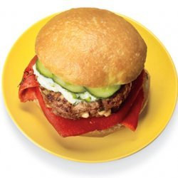 Greek Feta Burger recipe