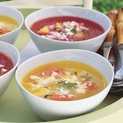 Chilled Watermelon Soup recipe