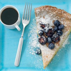 Lemon-Nut Torte with Summer Berries recipe