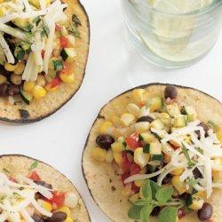 Zucchini and Corn Tacos recipe