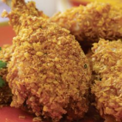 Spiced Up, Oven-Fried Chicken recipe