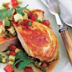 Chicken Breast with Salsa recipe