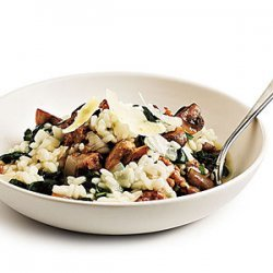 Sausage and Spinach Risotto recipe