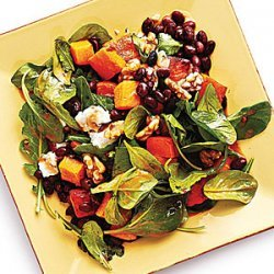 Butternut Squash and Smoky Black Bean Salad recipe