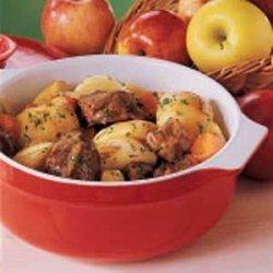 Apple Beef Stew recipe