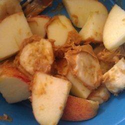 Peanut Butter Fruit Salad recipe