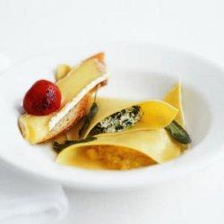 Spinach and Acorn Squash  Ravioli  recipe