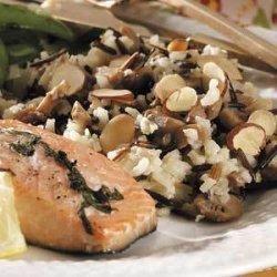 Baked Mushroom Rice Pilaf recipe